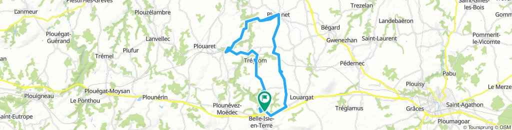 Locmaria to pluzenet and back by tregrom