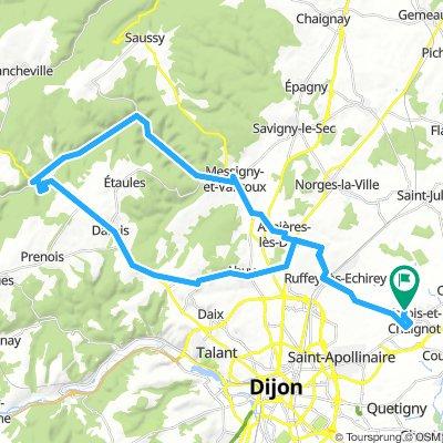 Un petit tour par les hauts de Dijon