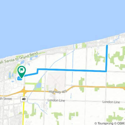 Long Tuesday Route In Sarnia