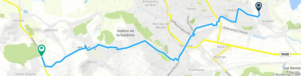 Lengthy Wednesday Route In Iaşi