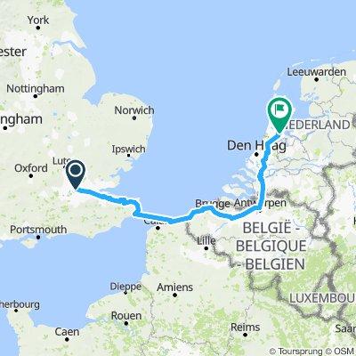 London to Amsterdam 2018