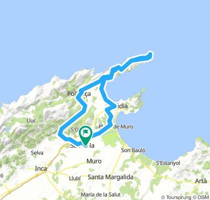 20180808 Sa Pobla-Far de Formentor-Sa Pobla