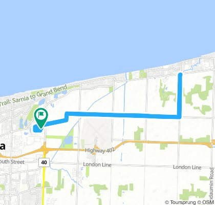 Easy Afternoon Route In Sarnia