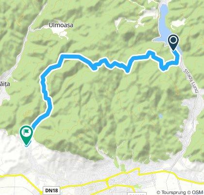 Camping Baraj-Adapost Plestioara-Drm.f. Bartosa-Vl. Borcutului