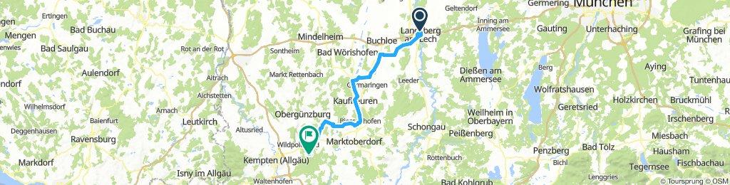 SoTo 2018/3c: Landsberg - Hauptmannsgreut