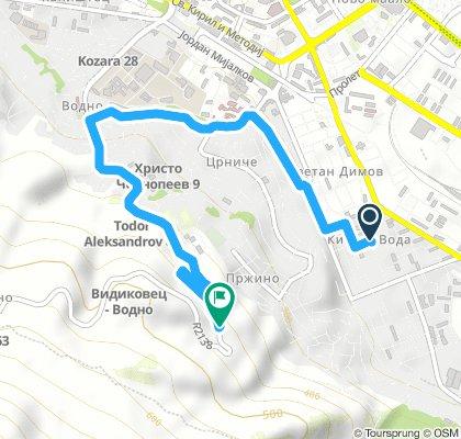 Short Thursday Route In Skopje