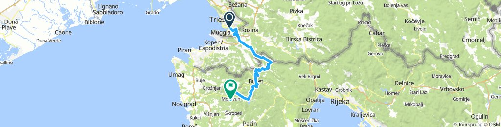 Istria Pack - Day one