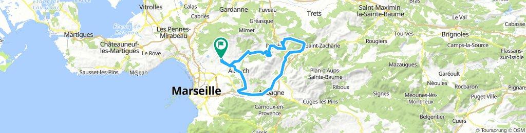 M2: LeTerme-Peypin-Auriol-Aubagne