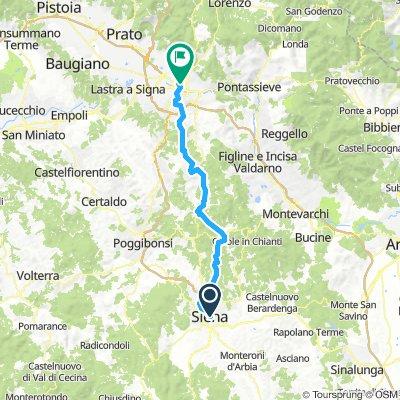 2018 9 Siena - Florenz