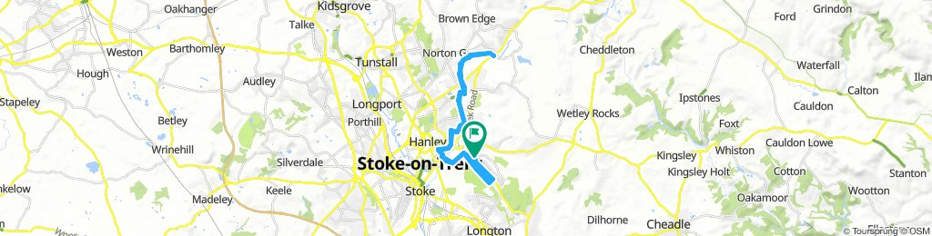 Lengthy Morning Ride In Stoke-On-Trent