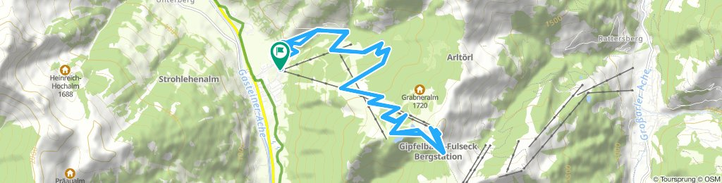 Spred Out Donnerstag Route In Dorfgastein