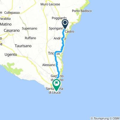 Route Salento 2018 - percorso ufficiale