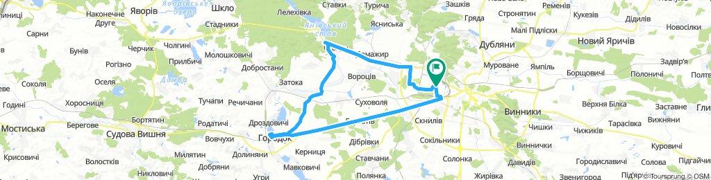 Lviv - Ivano-Frankove - Horodok - Lviv