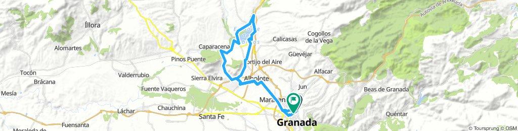 Vuelta Pantano Cubillas 9-8-18