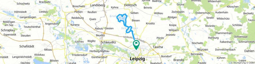 Schladitzer See - Werbeliner See - Grabschützer See - Zwochauer See