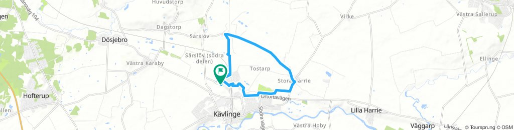 Easy Thursday Route In Kävlinge