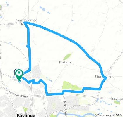 Easy Thursday Route In Kävlinge