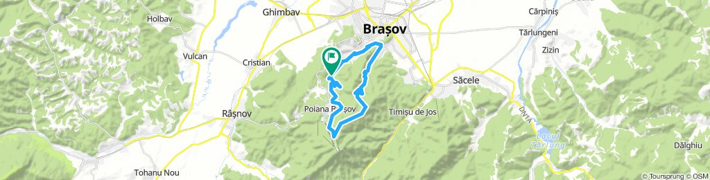 Pietrele lui Solomon- Forestier- Bradul-Lacul Poiana Ruia- Valea cu Apa - Saua Tampei BV