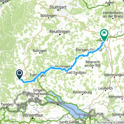 Donaueschingen - Ulm