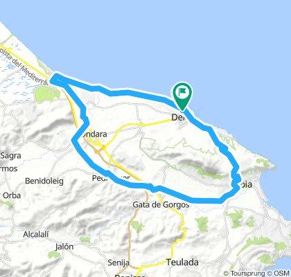 Denia-Vuelta Montgo