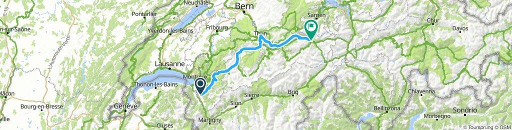 TGV2018 - ETAPE 1 : Aigle-Meiringen