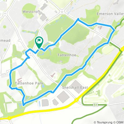 Lengthy Friday Route In Milton Keynes