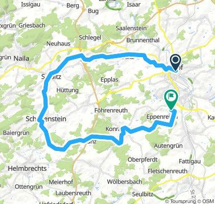 Rundfahrt von Hof - Almbranz