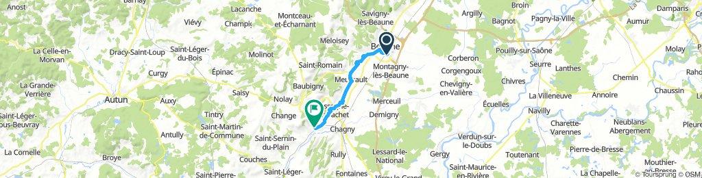 Giro in Borgogna - Côte de Beaune