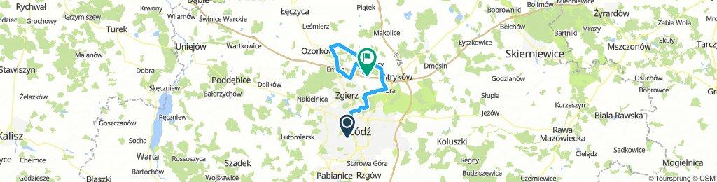 Łódź - Szczawin dookoła :)