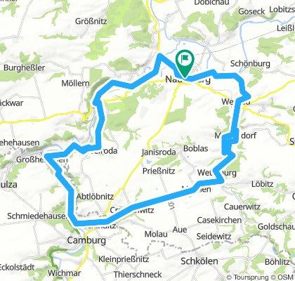 Naumburg 2018 - Tag 3  Runde über Tümpling