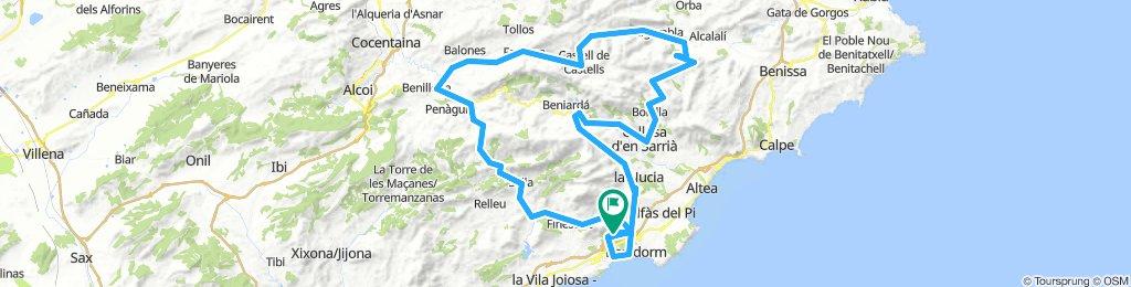 WORLD CYCLING TOUR COSTA BLANCA 2018 BENIDORM