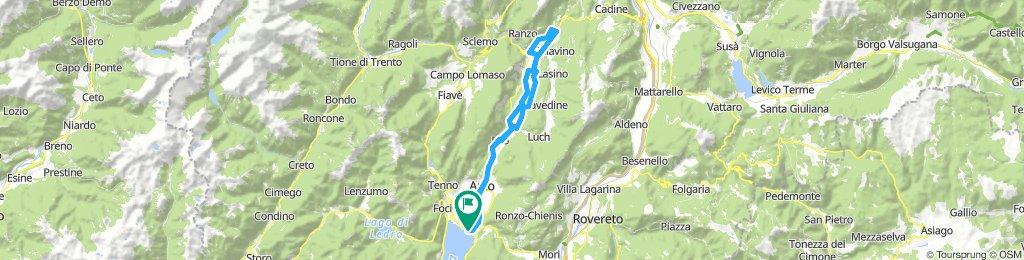 Linfano-Lago di Santa Massenza-Linfano