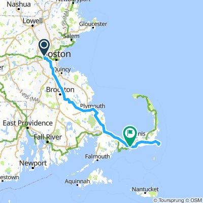 Cape Cod Bike Trip