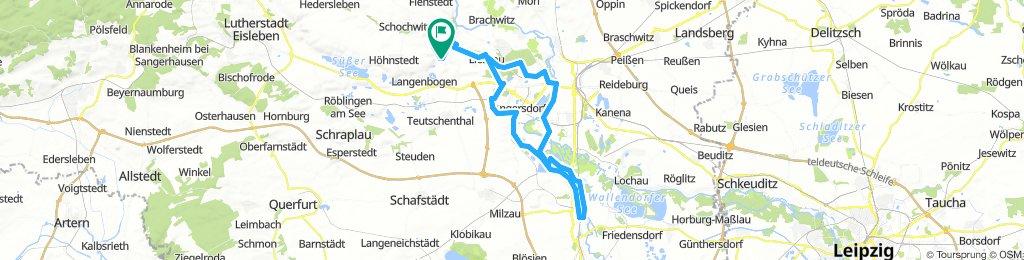 Zappendorf-Saaletour Bootshaus Merseburg-Zappendorf