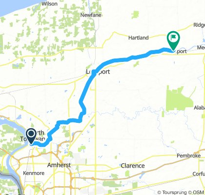 Tonawanda to Middleport