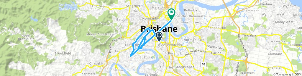 Brisbane river loop (partial)