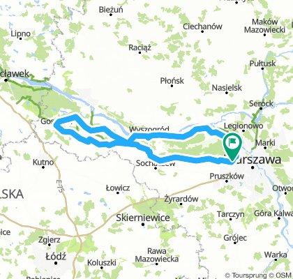 250 km pętla do Gostynina