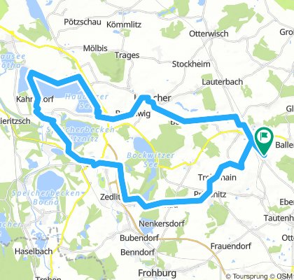 Radtour Hainersee