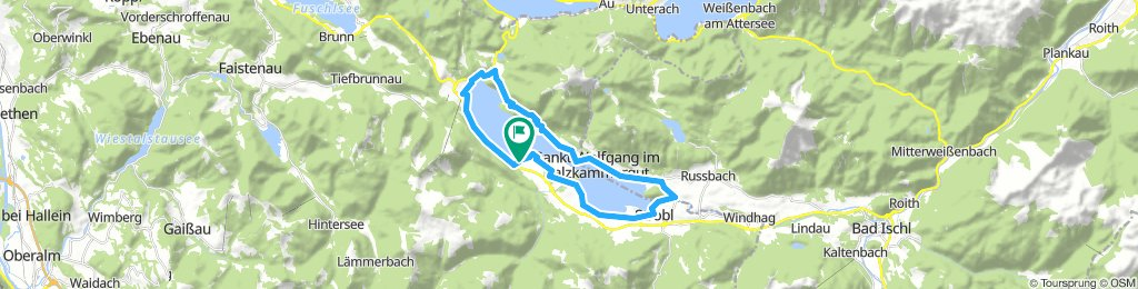 Ö-Wolfgangsee Rundtour
