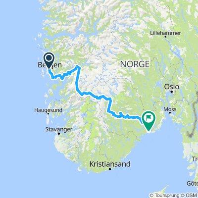 Noorwegen 2018. Bergen-Langesund