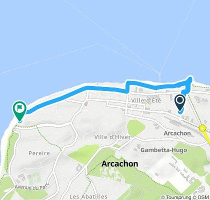 1 - arcachon centre - plage peireire