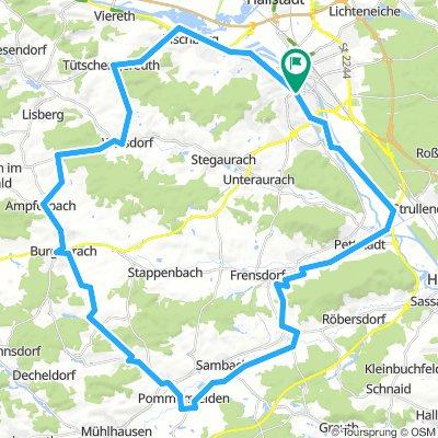 Steigerwaldrunde ab Bamberg