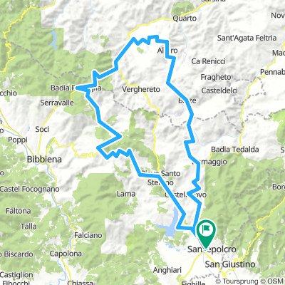 12/08 : Viamaggio, Fumaiolo, Mandrioli e La Verna