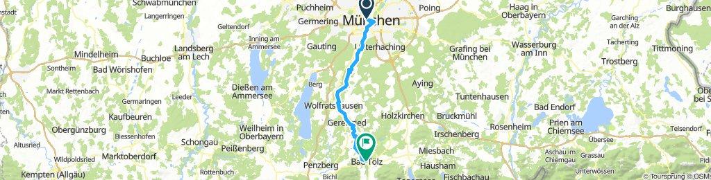 1. Munich to Bad Tolz