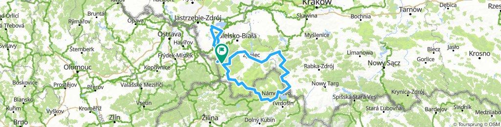 2018.08.09 Dookoła Babiej Góry, Pilska + Żabi Kraj