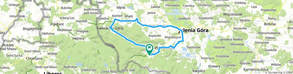 Szklarska-Świeradów-Jelenia-Szklarska