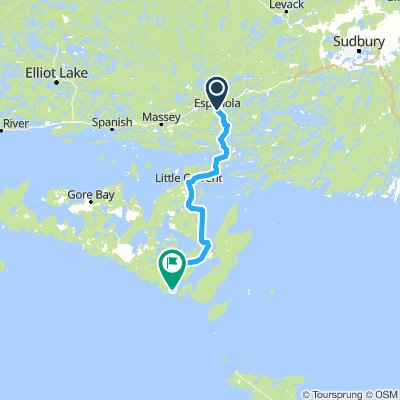 6of12 SouthCentralON - 04a Espanola, ON to South Baymouth, ON (South Bay Resort and Campground) 111km