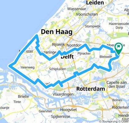 Zevenhuizen - Kijkduin - Hoek van Holland