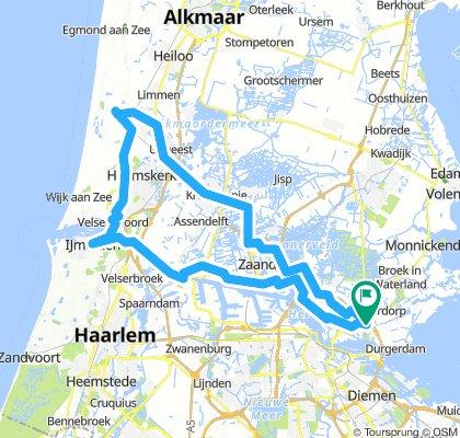 amsterdam-castricum-Nationaal Park-Amsterdam Noord