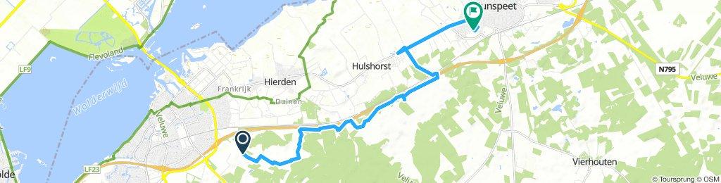 MTB Moderate Sunday Track Ermelo to Nunspeet